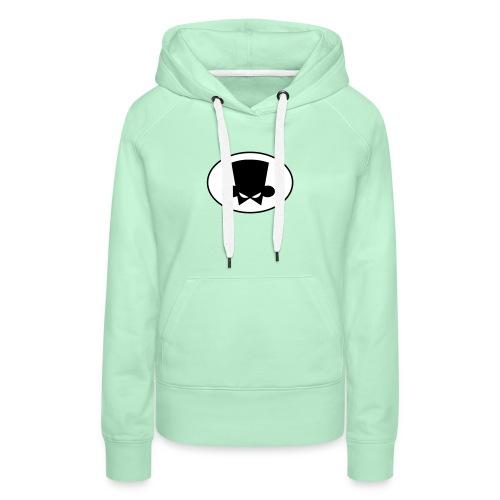 logo Fanboy - Sudadera con capucha premium para mujer