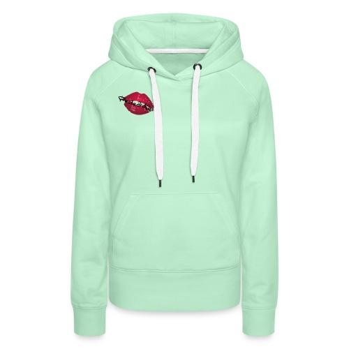 Pueta Kiss - Sweat-shirt à capuche Premium pour femmes