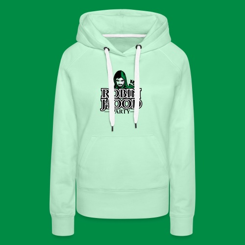 Robin Hood Party Logo Classic - Frauen Premium Hoodie