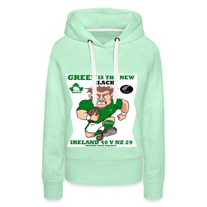 GREEN IS THE NEW BLACK !! - Women's Premium Hoodie