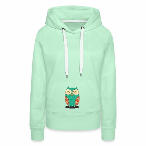 Cute Owl - Frauen Premium Hoodie