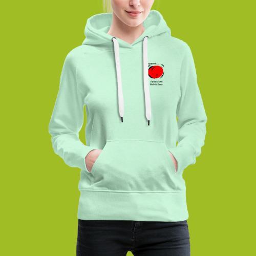 I support Operation Bobbi Bear - Vrouwen Premium hoodie