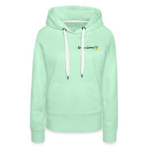 Spikey Lemon Clear black - Women's Premium Hoodie