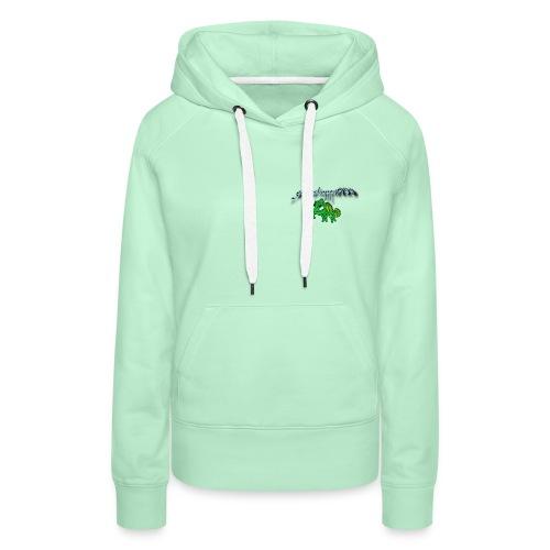 grasshopper189 Logo - Frauen Premium Hoodie
