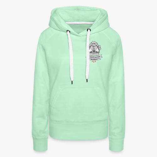 Bloody Bishop Barbershop - Vrouwen Premium hoodie