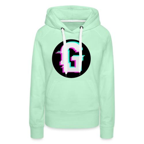 Glitch Logo - Vrouwen Premium hoodie