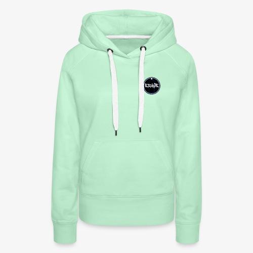 Logo Erase - Sweat-shirt à capuche Premium pour femmes
