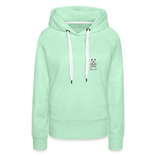 anatomie Koko - Sweat-shirt à capuche Premium pour femmes