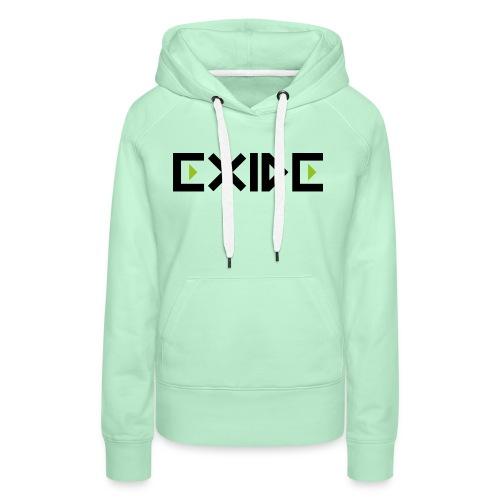 Logo Exide - Frauen Premium Hoodie