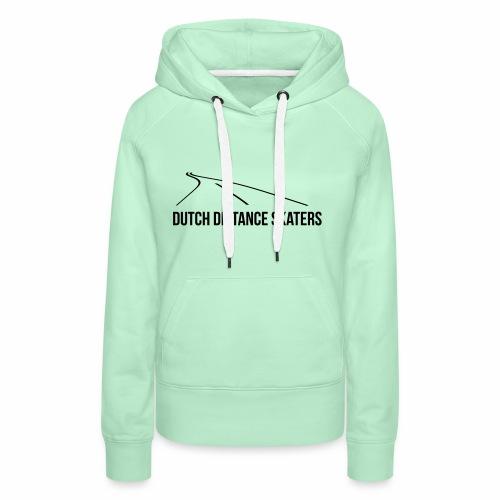DDS hoodie Zwart logo - Vrouwen Premium hoodie
