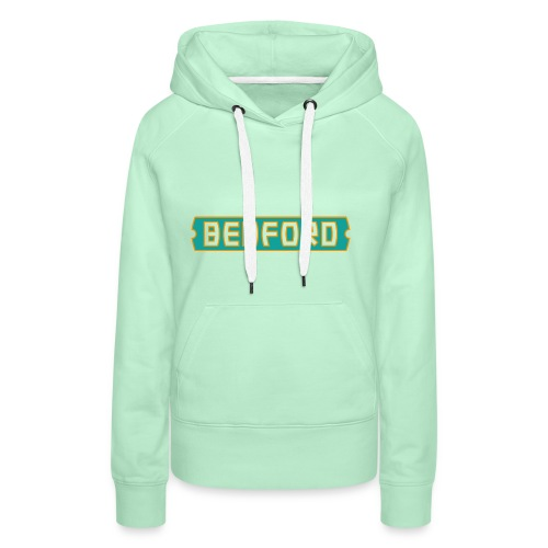 bedford logo - Frauen Premium Hoodie