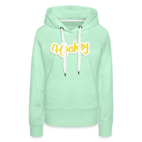 Hockeytier ::: HockeyType - Frauen Premium Hoodie