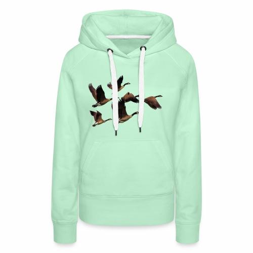 Enten - Frauen Premium Hoodie