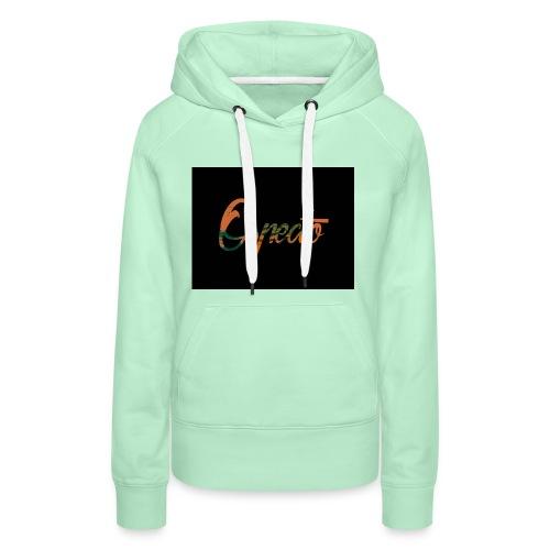 Ospecto logo - Sweat-shirt à capuche Premium pour femmes