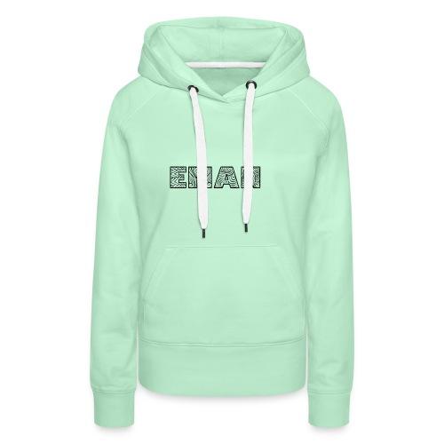 eman name - Women's Premium Hoodie