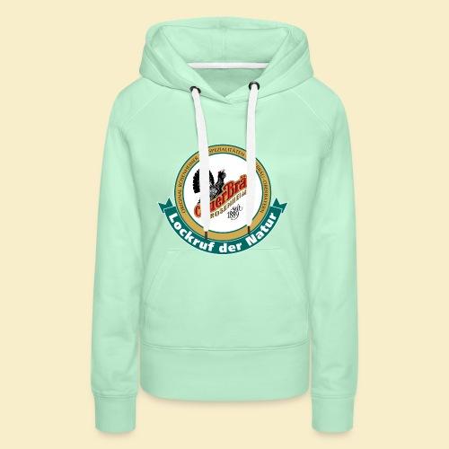 Auerbraeu Logo - Frauen Premium Hoodie