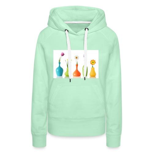 bloempotje - Vrouwen Premium hoodie