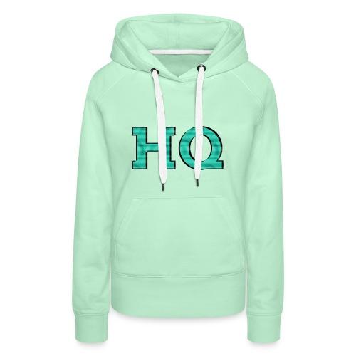 HQ LOgo 2 - Vrouwen Premium hoodie
