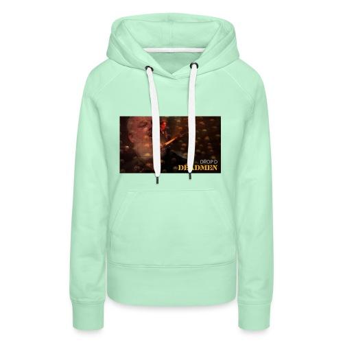 DEADMEN - Sweat-shirt à capuche Premium pour femmes