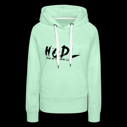 HODL | Crypto Shirt - Frauen Premium Hoodie
