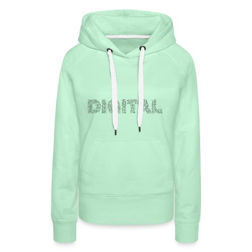 Digital - Frauen Premium Hoodie