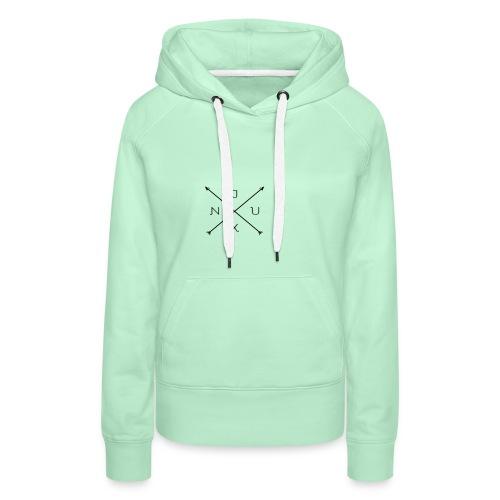 Justxn Logo - Frauen Premium Hoodie