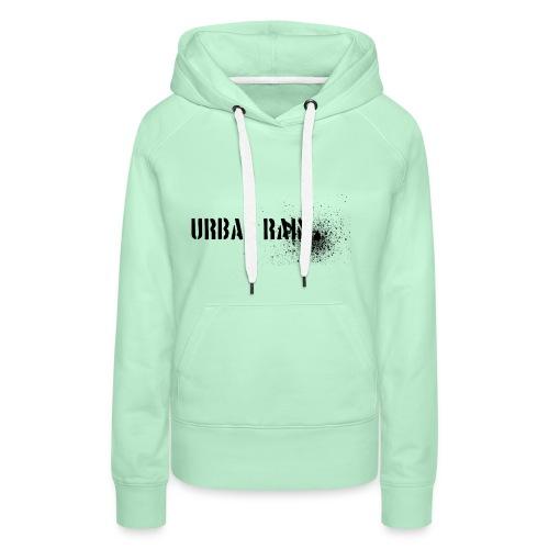 urban rain logo - Frauen Premium Hoodie