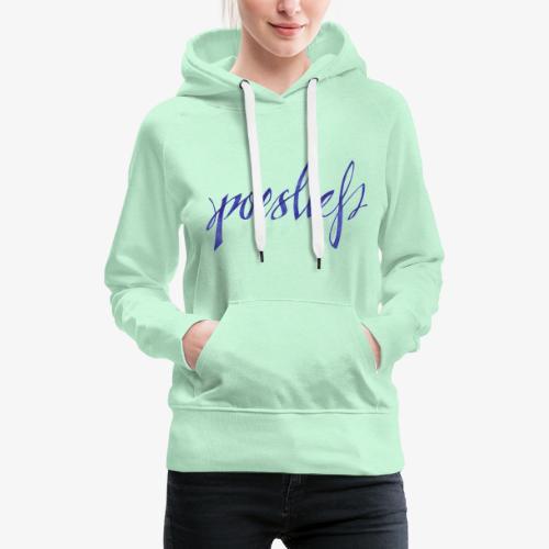 Poeslief - Vrouwen Premium hoodie