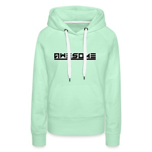 Awesome (Black) - Women's Premium Hoodie