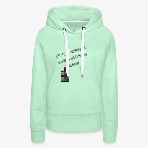 EMPIRE - Hustle Fashion by AMTDesign - Frauen Premium Hoodie