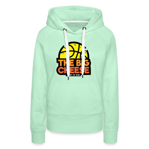The Big Cheese Logo - Women's Premium Hoodie