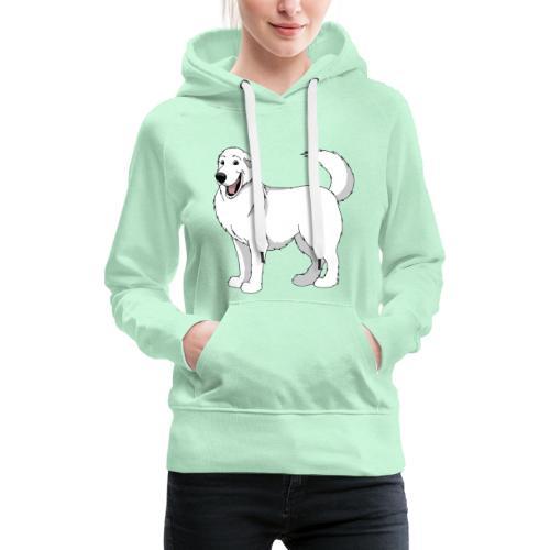 Loveable Pyrenean Mountain Dog - Women's Premium Hoodie