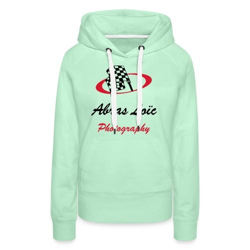 Abras Loïc Photography - Sweat-shirt à capuche Premium pour femmes
