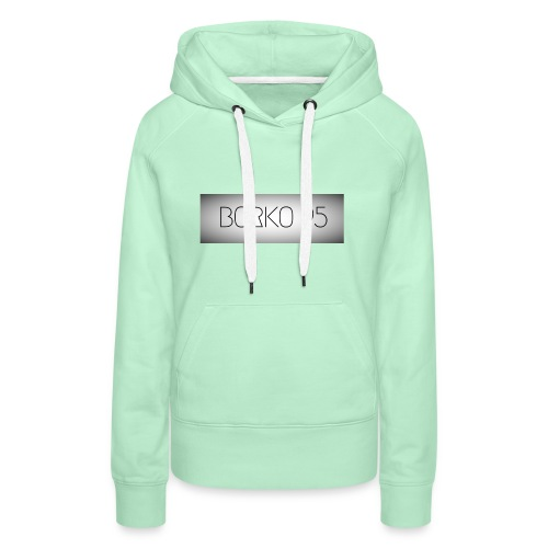 Borkowoef95 - Vrouwen Premium hoodie