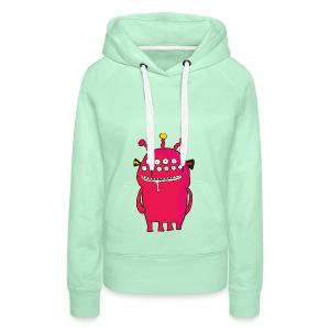 Alienating... (monster #1) - Women's Premium Hoodie