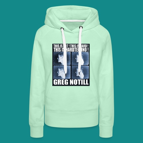 gregnotillbestteeshirtblue - Women's Premium Hoodie