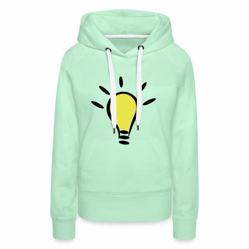 Glühbirnen Kollektion - Frauen Premium Hoodie