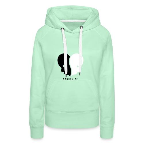 Connexité - Sweat-shirt à capuche Premium pour femmes