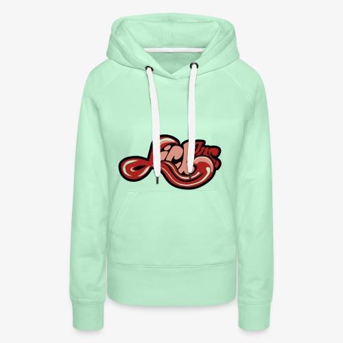 Lick Inc. Logo - Wähle DEINE Farbe - Frauen Premium Hoodie