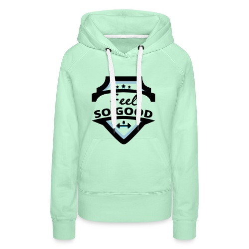 feelsogood white - Vrouwen Premium hoodie