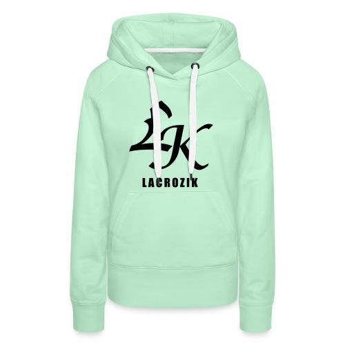 Lacrozik - Sweat-shirt à capuche Premium pour femmes
