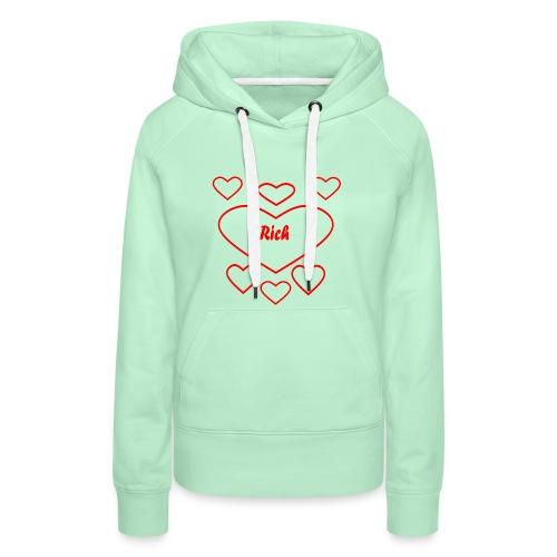 Rich Heart - Frauen Premium Hoodie