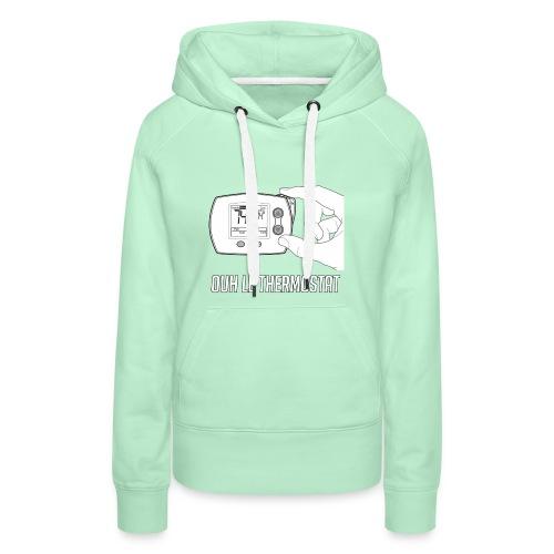 PCLP2 - Sweat-shirt à capuche Premium pour femmes