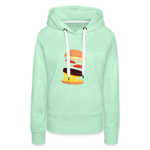 Hamburger Men - Women's Premium Hoodie