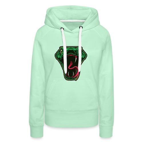 Zunix Snake Trui Vrouw - Vrouwen Premium hoodie