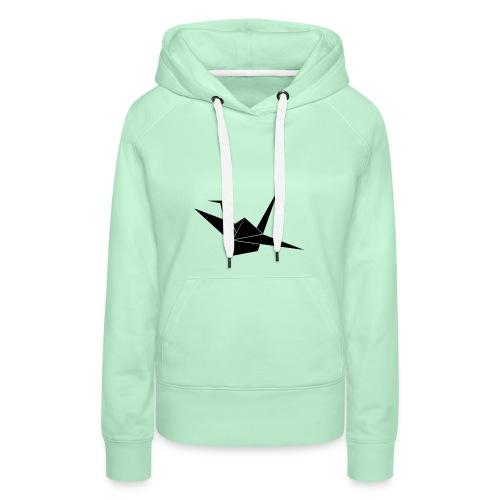 Crane bird - Vrouwen Premium hoodie