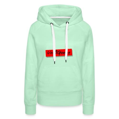 Ceci est le logo de ma marque de Vêtement - Sweat-shirt à capuche Premium pour femmes