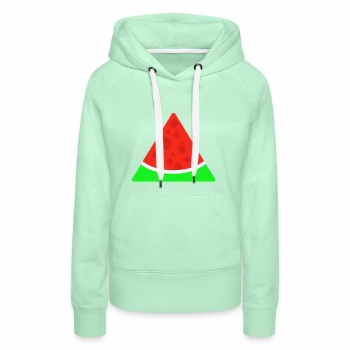Melone - Frauen Premium Hoodie