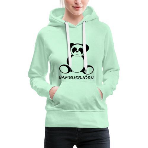 Bambusbjörn - Frauen Premium Hoodie