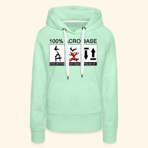 100% Acro Base - Women - Women's Premium Hoodie